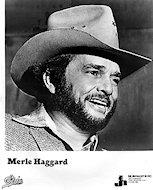 Merle Haggard Promo Print
