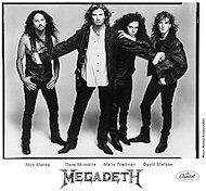 Megadeth Promo Print