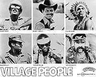 Village PeoplePromo Print