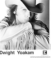 Dwight Yoakam Promo Print