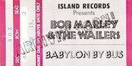 Bob Marley and the Wailers Postcard