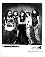 Faith No MorePromo Print