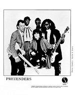 The Pretenders Promo Print