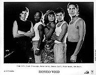 Romeo Void Promo Print