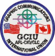 Graphic Comnunications International UnionPatch