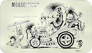Mouse Monster ClubHandbill