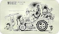 Mouse Monster ClubHandbill