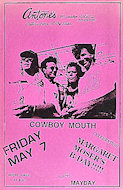 Cowboy Mouth Poster