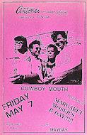 Cowboy Mouth Poster