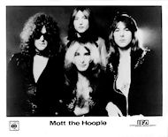 Mott the Hoople Promo Print