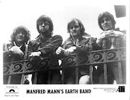 Manfred Mann's Earth Band Promo Print