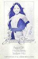 Yvonne Elliman Handbill