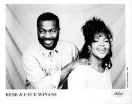 Bebe and Cece WinansPromo Print