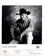 Clay WalkerPromo Print