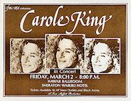 Carole KingHandbill