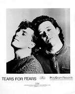 Tears for Fears Promo Print