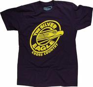 Silver Eagle Cross Country Men's Retro T-Shirt
