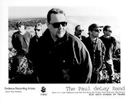 Paul DeLay Band Promo Print