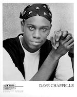 Dave ChappellePromo Print
