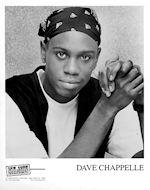 Dave ChappellePromo Print