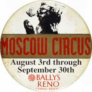 The Moscow Circus Vintage Pin