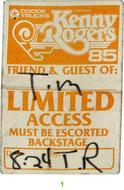 Kenny RogersBackstage Pass