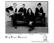 Big Blue HeartsPromo Print