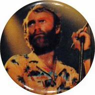 Phil Collins Vintage Pin