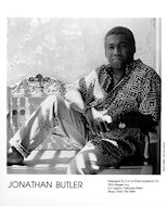 Jonathan ButlerPromo Print