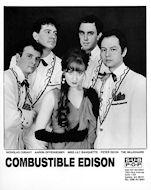 Combustible Edison Promo Print
