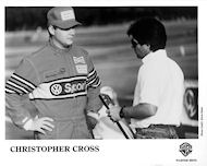 Christopher Cross Promo Print