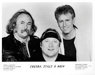Crosby, Stills &amp; NashPromo Print