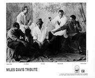 Miles Davis Tribute Promo Print