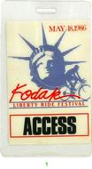 Kodak Liberty Ride Festival Laminate