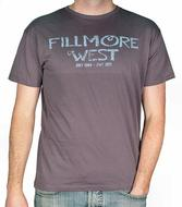 Fillmore West Men's Retro T-Shirt from 1968