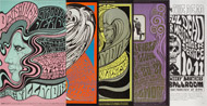 Wes Wilson Poster Set Poster