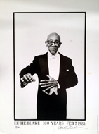 Eubie Blake 100 Year Birthday Celebration Poster