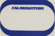 F.M. Productions Backstage Pass