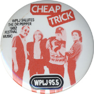 Cheap Trick Vintage Pin