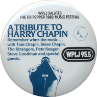 Tom Chapin Vintage Pin
