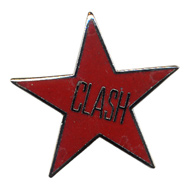 The Clash Vintage Pin