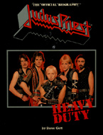 Judas Priest Heavy Duty Book