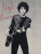 Nigel Harrison Handbill