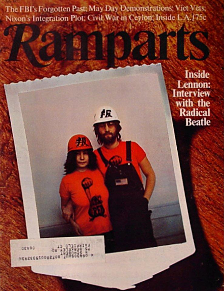 Ramparts Vol. 10 No. 1 Magazine
