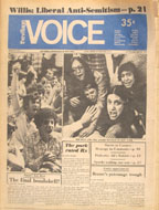 The Village Voice Vol. 19 No. 21 Magazine