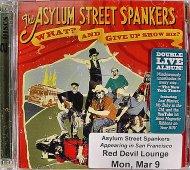 The Asylum Street Spankers CD