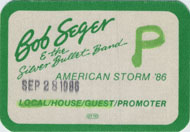 Bob Seger and The Silver Bullet Band Laminate