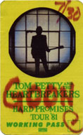 Tom Petty & the Heartbreakers Laminate