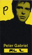 Peter Gabriel Laminate