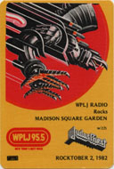 Judas Priest Backstage Pass